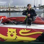 skipper figaro beneteau région normandie